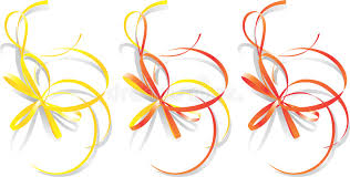 decorative ribbons decorative ribbons vector royalty free stock photo image 1839635