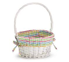 filled easter baskets wholesale willow and plaid easter basket