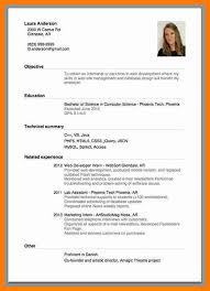 Simple Free Resume Template Examples Of Simple Resume 6 Sample Simple Resume Format