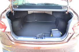 nissan almera boot space the all new proton persona test drive review kensomuse