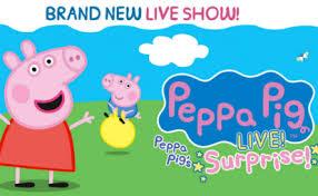 peppa big live scotiabank centre ticket