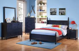 bedroom sets zachary navy 4 pc youth bedroom set coa 400691