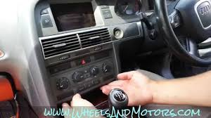 how to change units between celsius fahrenheit in audi a6 c5