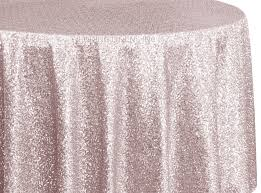 pink round table covers blush pink sequin table cover linens 108