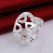beautiful big rings images 925 sterling silver women love ring gorgeous design fashion chain jpg
