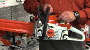 how to select the right stihl chainsaw youtube