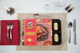 pringles launches thanksgiving dinner of chips just in time