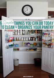 6 simple things you can do today to clean organize your pantry