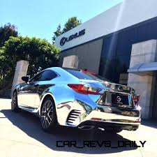 lexus rc f hre 2015 lexus nx200t f sport and rc350 chrome wrap by 360 elite