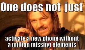 New Phone Meme - new cell phone problems quickmeme