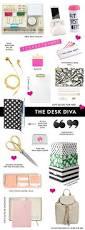 Diy Desk Decor Ideas Office 6 Chic 10 Design Office Supplies For Women