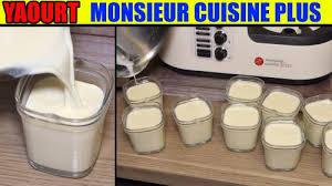lidl recettes de cuisine recette yaourt monsieur cuisine plus edition lidl silvercrest