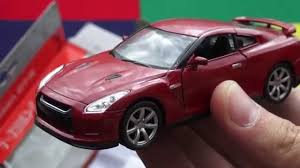 nissan gtr model car nissan gt r welly scale model youtube