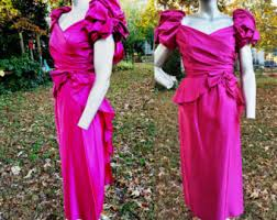 80s Prom Dress Size 12 Pink Prom Dress Etsy
