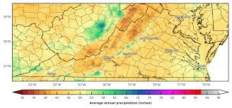 Precipitation Map Of The United States by Prism Precipitation Maps For The Southeast U S Southeast