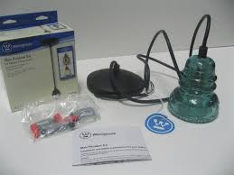 glass insulator light kit westinghouse pendant light kit and remodelaholic recycling glass
