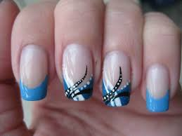nail art abstract baby blue youtube