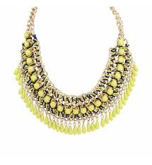 gold plated statement necklace images Bohemian statement necklace jpg