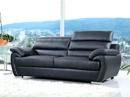 entretien canap cuir noir canap cuir noir 3 places ensemble de canaps relaxation places et
