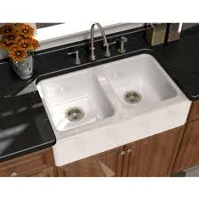 undermount kitchen sink with faucet holes sinks kitchen sinks undermount the kitchen and bath