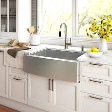 Farmhouse Sinks For Kitchens The Stainless Steel Farmhouse Kitchen Sink And Kitchen Sink