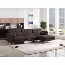 Leather Chaise Couch Modern Sectional Sofas