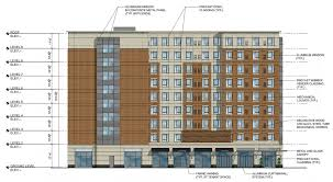 Marriott Residence Inn Floor Plans by 111 Fountain Street Hotel Proposal Greater City Providence