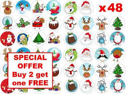 Cheap Christmas Cake Decorations Uk by Christmas Cake Toppers Amazon Co Uk