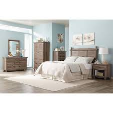 bedroom set walmart sauder harbor view 6 piece bedroom set salt oak furniture