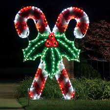shop holiday lighting specialists 8 3 ft crossed candy canes