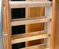 spice rack cabinet insert pull out spice cabinet pull out cabinet spice rack pull out spice