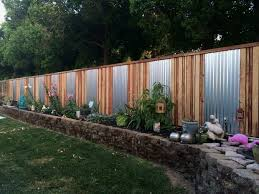 Diy Ideas For Backyard Cool Design Backyard Fence Diy Fancy Ideas Garden Colormag Options