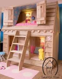 Little Girls Bunk Bed by Bed Canalhouse Or Is It A Bbirdhouse Sleeps 3 Saartje Prum