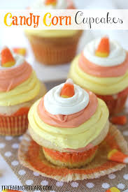 Easy To Make Halloween Snacks by Candy Corn Cupcakes Plus 25 Frightfully Cute Halloween Treats