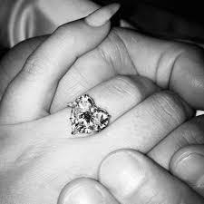 heart shaped diamond engagement ring trend gaga s heart shaped engagement ring barbara