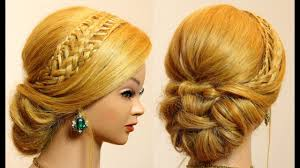 cute updo hairstyles for long hair tutorial youtube