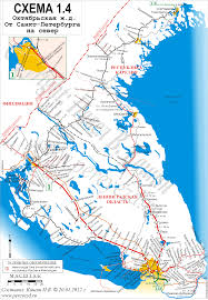 Petersburg Alaska Map by Railroad Maps