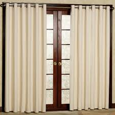 Patio Door Curtains Decorating Eclipse Thermal Blackout Patio Door Curtain Panel 100