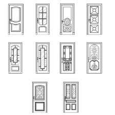 Sofa Cad Block Elevation Doors Elevation Dwg Block Max Cad Com