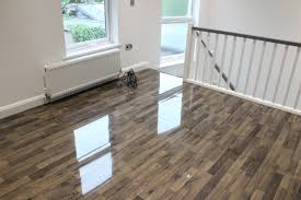 Laminate Flooring High Gloss High Gloss Vintage Ivory Oak Floorless Floors
