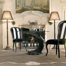 ebony table and chairs ebony italian pedestal round glass dining table juliettes interiors