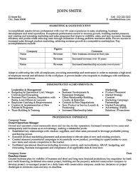 sales executive resume marketing and sales executive resume template premium resume