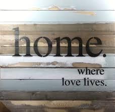 Love Home Decor Sign by Sweet Bird U0026 Co Joy Is In The Ordinary Jumbo Wood Wall Decor Sign