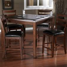 american heritage 100743sd rosa 2 in 1 dining table in suede