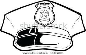 Police Hat Coloring Page Police Station Coloring Pages Police Coloring Page Of A Hat