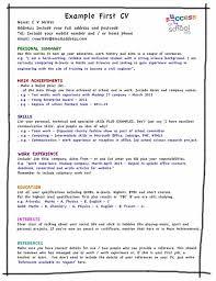 resume template for teenagers haadyaooverbayresort com