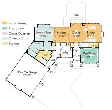 Floor Plans Open Concept by Open Concept Living With Options 18221be Architectural Designs