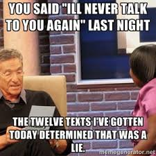 Ex Girlfriend Memes - finally told my clingy ex girlfriend i was done trying to make