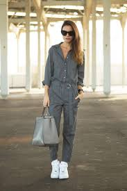 tips for making the jumpsuit work for every tomboy chic