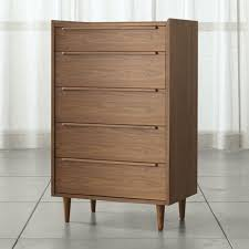Buy Bedroom Dresser Tate 5 Drawer Chest In Dressers Chests Reviews Crate And Barrel